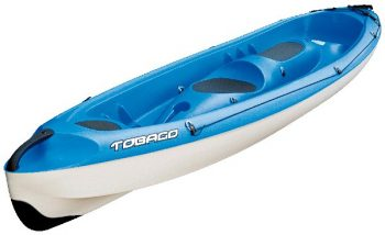bic kayak sit on top tobago blue
