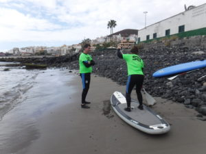 curso de stand up paddle
